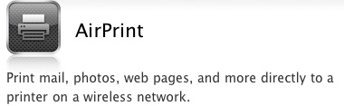 AirPrint Logo from macrumors