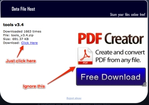 "Download file image - Just ignore the ""Free Download"" of PDF Creator"